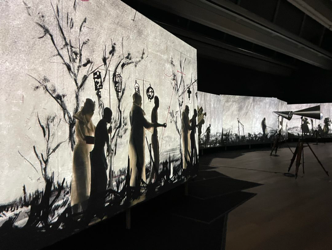 William Kentridge: the Mudam in Luxembourg displays his absolute masterpiece, a projection across 21 metres
