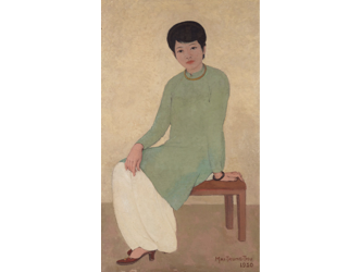 Vietnamese modern art: between Hong Kong and Paris the market for the school of painting that emerged from the colonial occupation is booming