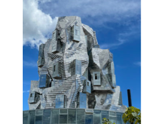 Contemporary art like a beating heart. Luma Arles by Maja Hoffmann is impressive and exhilarating